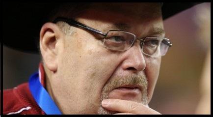 9.19.2013 : Jim Ross معتقد است که می تواند به ام ام ای منتقل شود