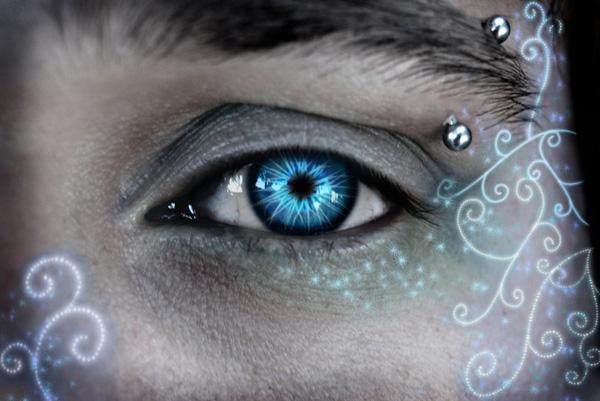 عکس چشم های قشنگ انسان