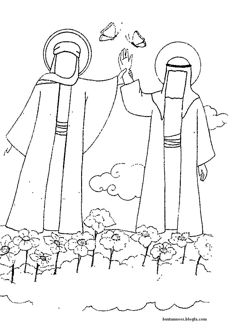 نتیجه تصویری برای رنگ آمیزی عید غدیر