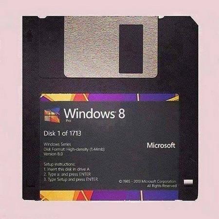 اگه مجبور بودیم ویندوز 8 مایکروسافت رو با دیسکت نصب کنیم
