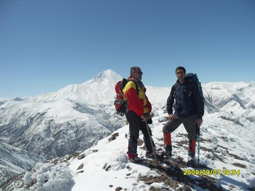 قله قوضک زمستان 91