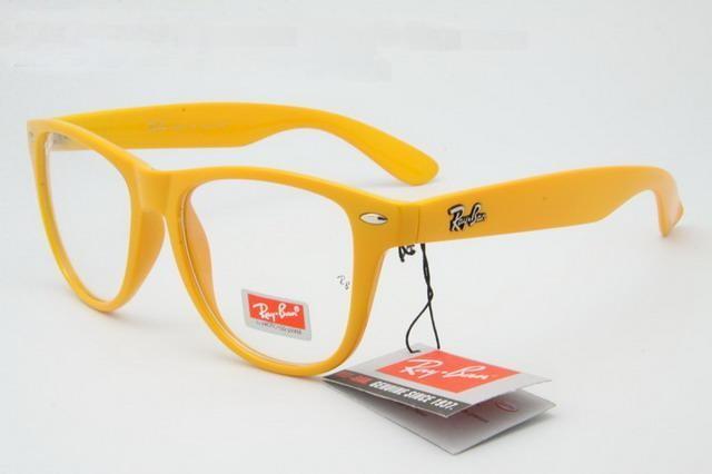 عینک ریبن رنگی شیشه شفاف
