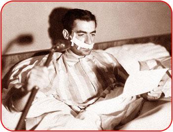 ترور شاه/شاه در بیمارستان