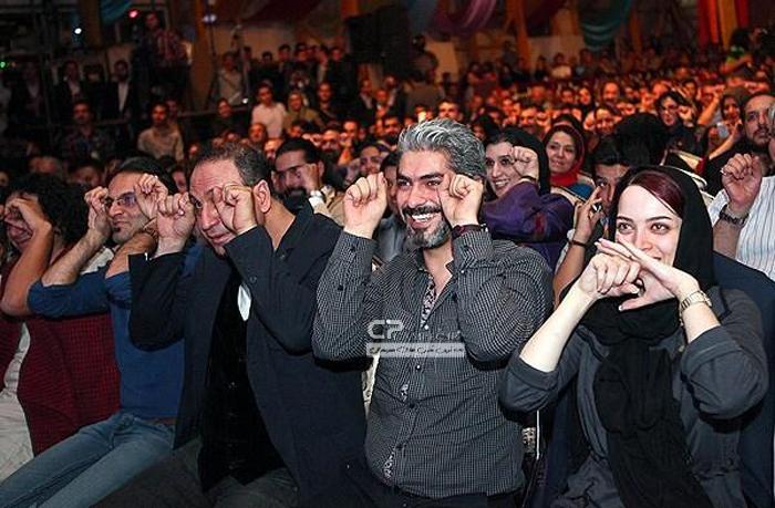 بهنوش طباطبایی،مهدی پاکدل،حمید فرخ نژاد
