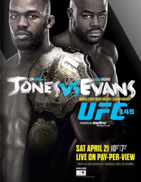 دانلود یو اف سی 145 | UFC 145: Jones vs. Evans