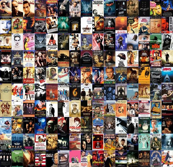 مجموعه ارزشمند 250 فیلم برتر دنیا