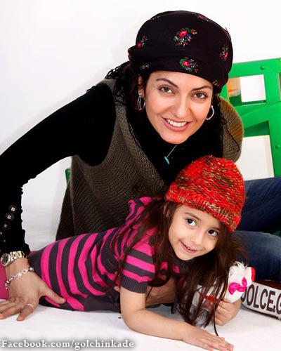 عکس مهناز افشار و دخترش