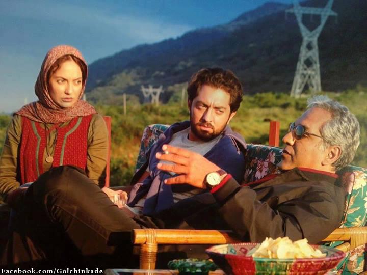 عکس فیلم مهناز افشار و بهرام رادان و مهران مدیری