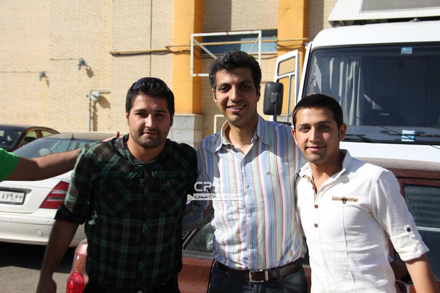 عادل فردوسی پور و محسن افشانی