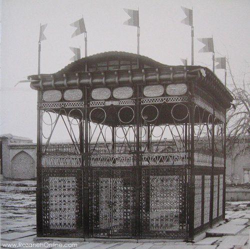 ارامگاه حافظ  در زمان قاجار-شیراز قدیمی