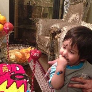 عکس جدید زانکو (فرزند چاوشی) در تولد یک سالگی اش