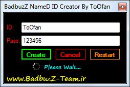 BadbuzZ NameD ID Creator By  ToOfan Named