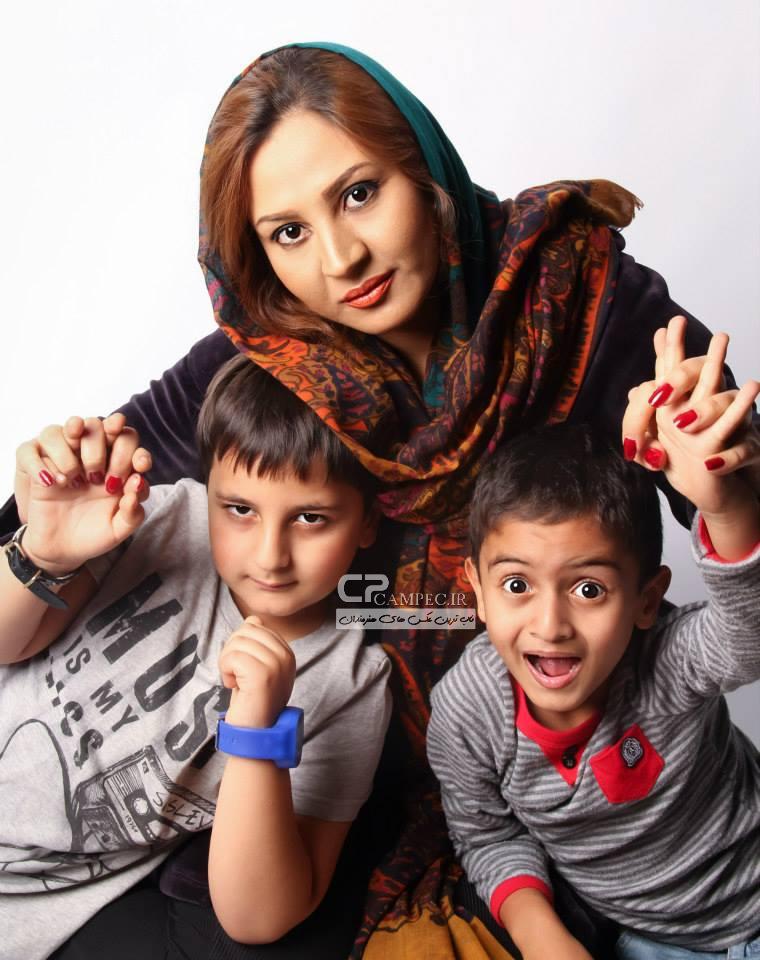 عکس های جدید محمد رضا شیرخانلو و مادر و برادرش
