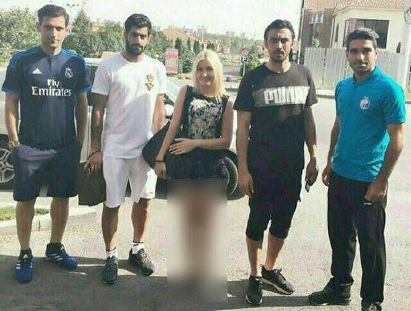 عکس بازیکنان استقلال در ارمنستان