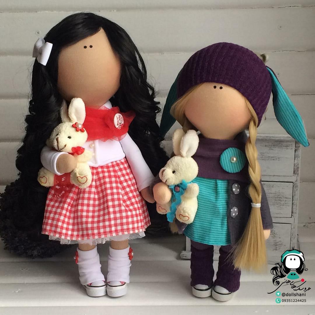 آموزش عروسک سازی در تلگرام آموزش عروسک سازی | عروسک روسی تیلدا