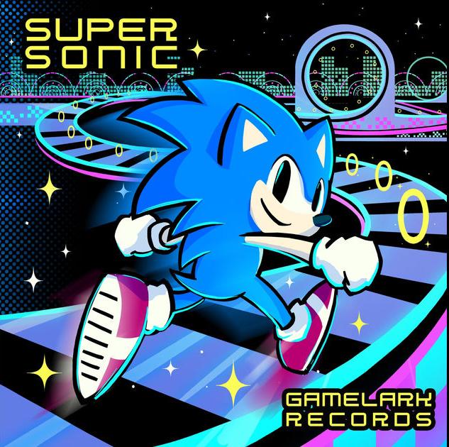 پست ویژه | دانلود آلبوم رکورد های گیم لارک:سوپر سونیک(Gamelark Records: Supersonic)