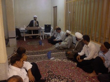 سخنرانی امام جمعه قهدریجان در جشن گلریزان خیریه امام حسن مجتبی(ع) جلال آباد