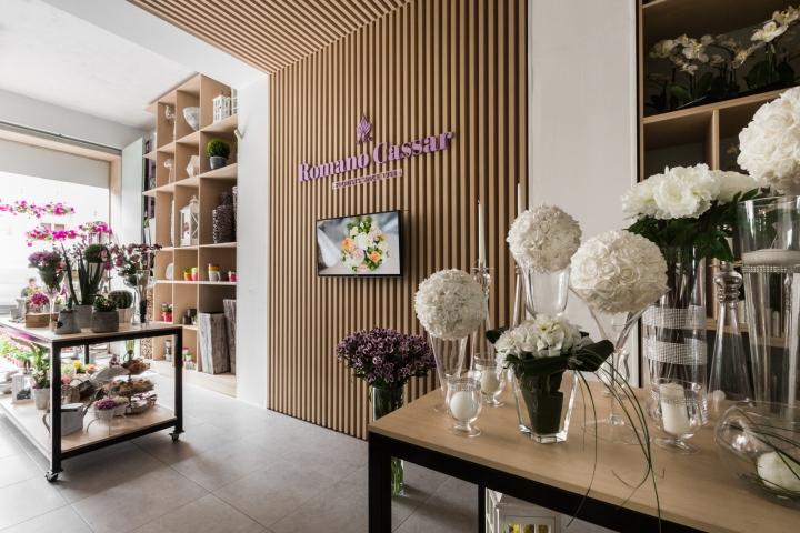 طراحی مغازه گل فروشی
