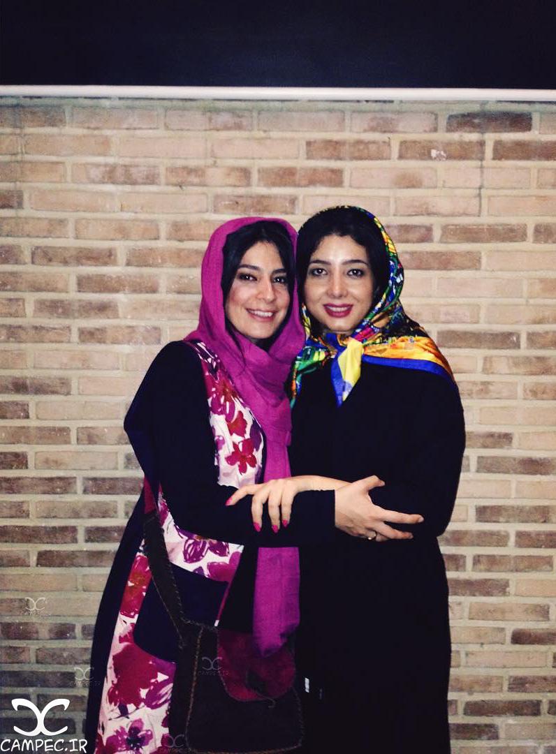 مرجان سپهری و غزاله جزایری