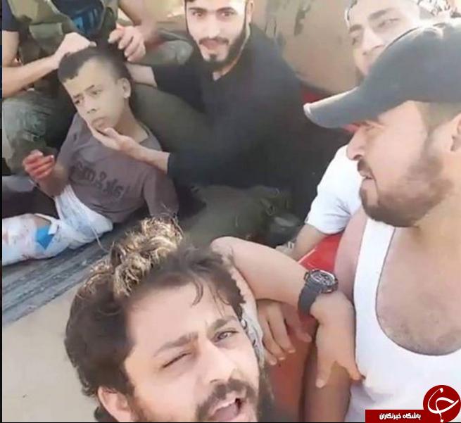 سر بریدن پسر 12 ساله فلسطینی توسط ارتش آزاد سوریه (نورالدین زنگی)