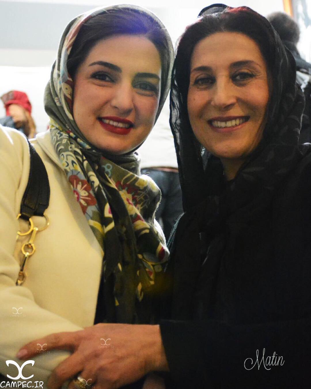 مریم شیرازی و فاطمه معتمدآریا