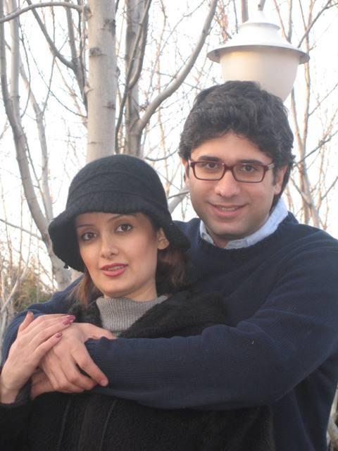 سمیرا سیاح و همسرش