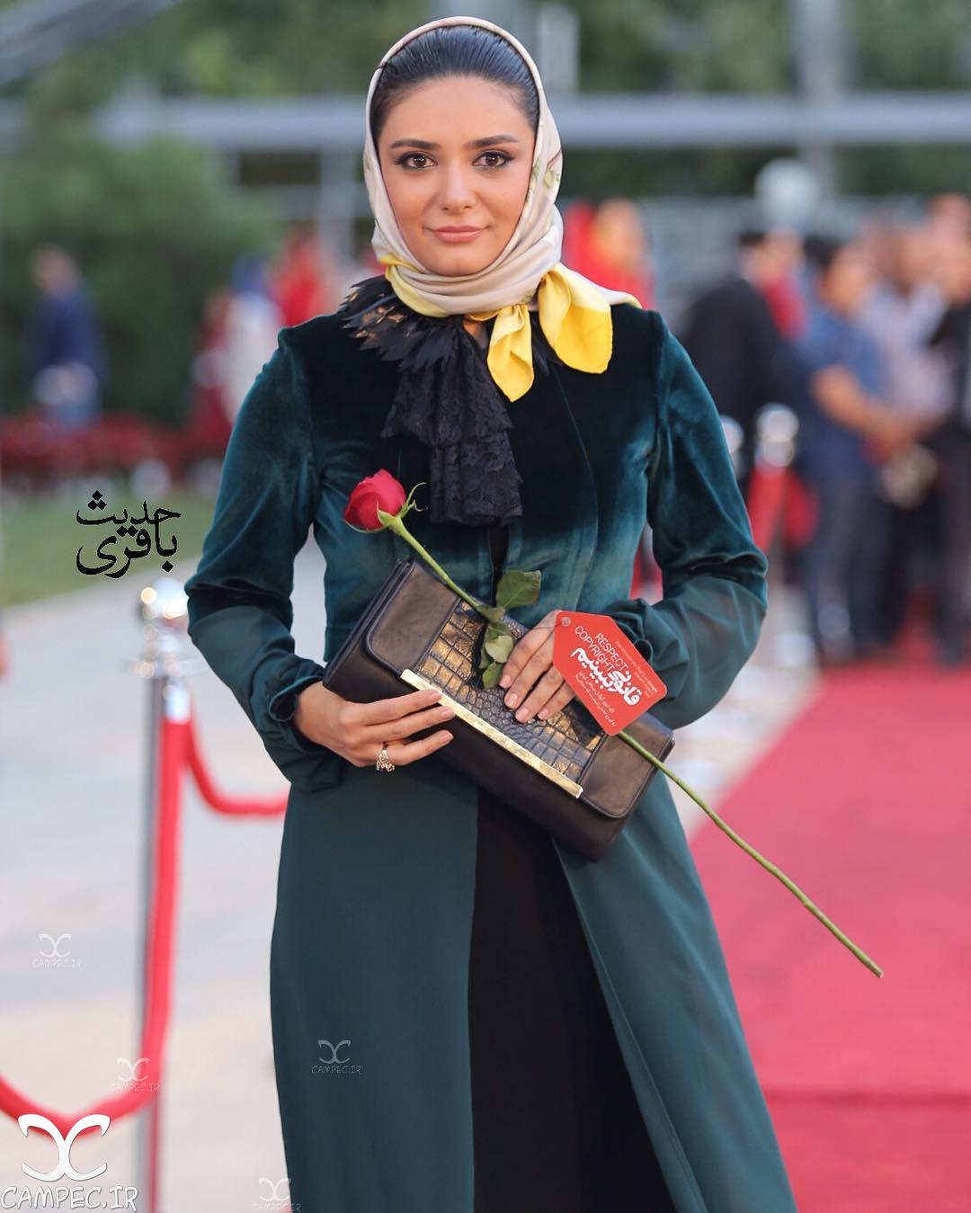 لیندا کیانی در جشن حافظ