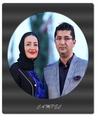 عکسهای بازیگران با همسران در جشن حافظ سال 95