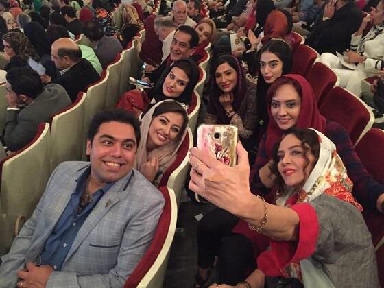 برگزیدگان مراسم جشن حافظ 95 | عکسهای بازیگران | دانلود فیلم