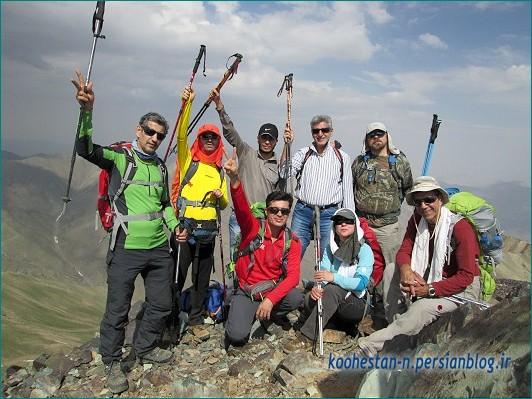 قله سرکچال 1 - گروه نشاط زندگی