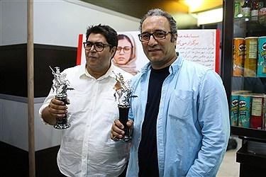 مراسم اهدای جایزه جشنواره مسکو به فرهاد اصلانی+فیلم و عکس