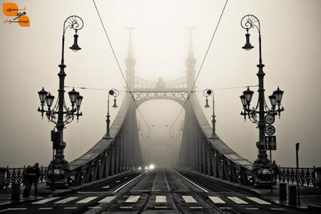 پُل در مه - گِلِرت / بوداپست