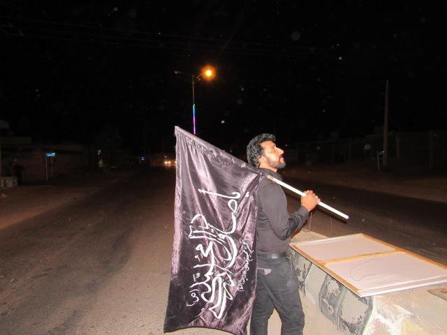 محله صادقیون سیاه پوش امام صادق علیه السلام گردید.