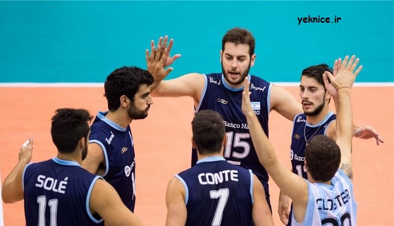 تاریخ و ساعت بازی اول والیبال ایران آرژانتین المپیک 2016