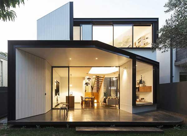 طراحی خانه ای مدرن در استرالیا