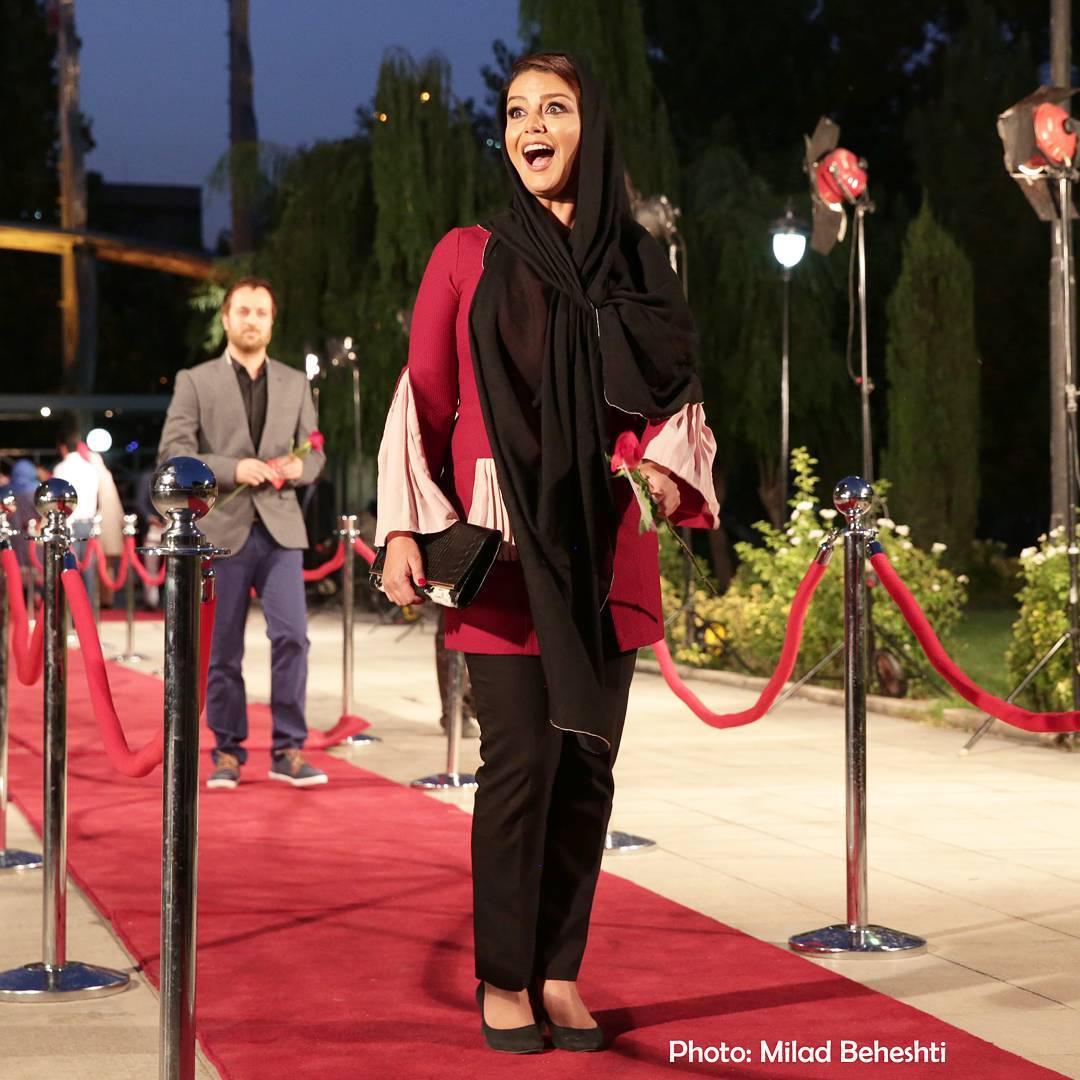 عکس شبنم فرشاجو در جشن حافظ 95