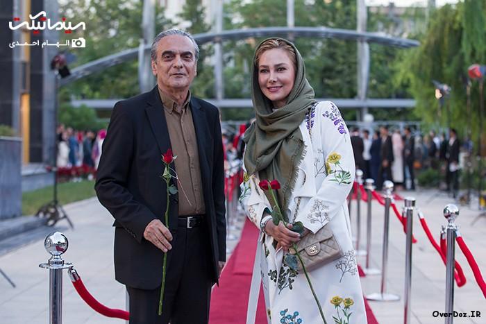 عکسهای جدید آناهیتا نعمتی در شانزدهمین جشن حافظ 95