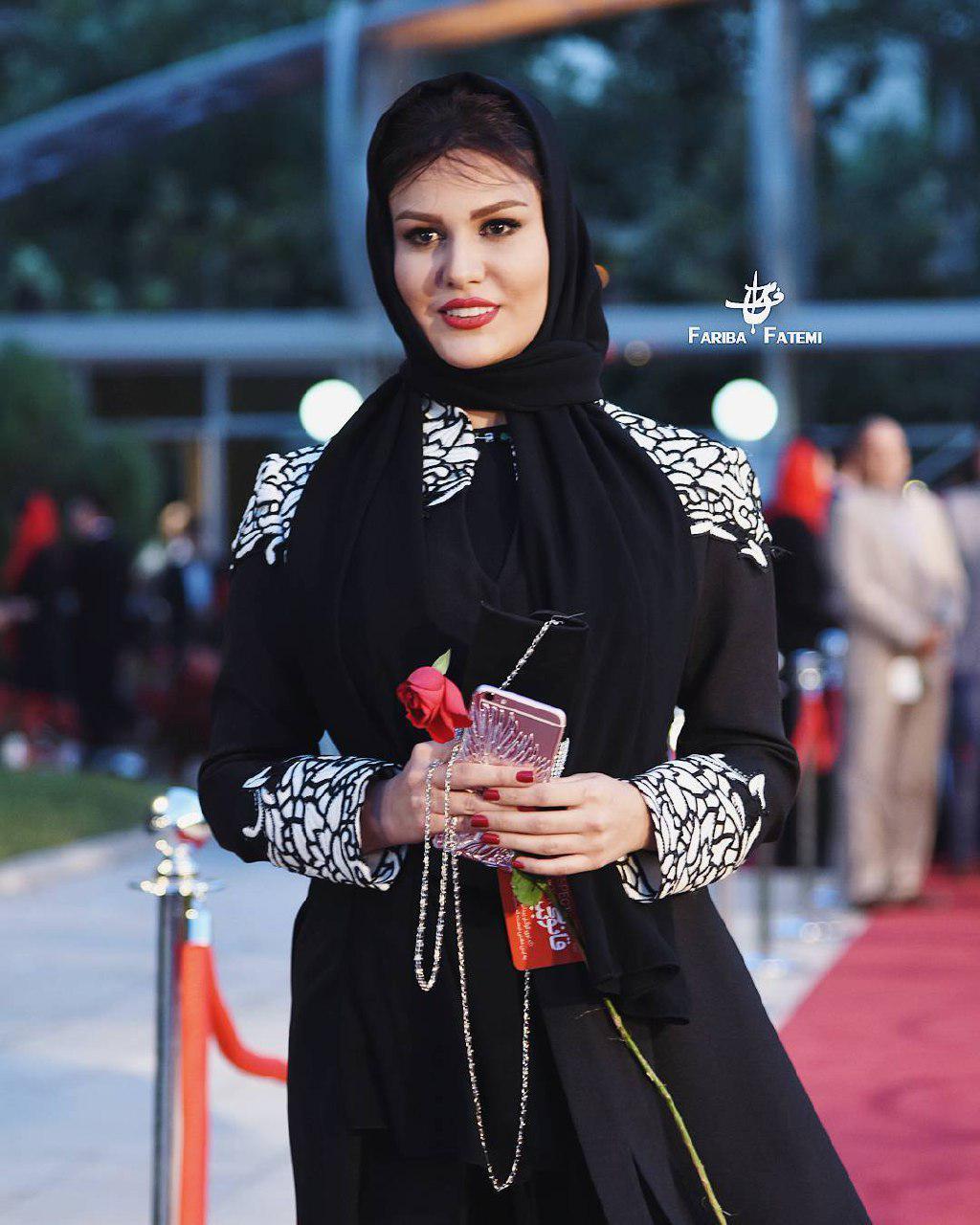 رز رضوی در جشن حافظ 95