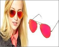 فروش عینک خلبانی شیشه آتشی