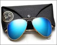 خرید ارزان عینک خلبانی شیشه آبی