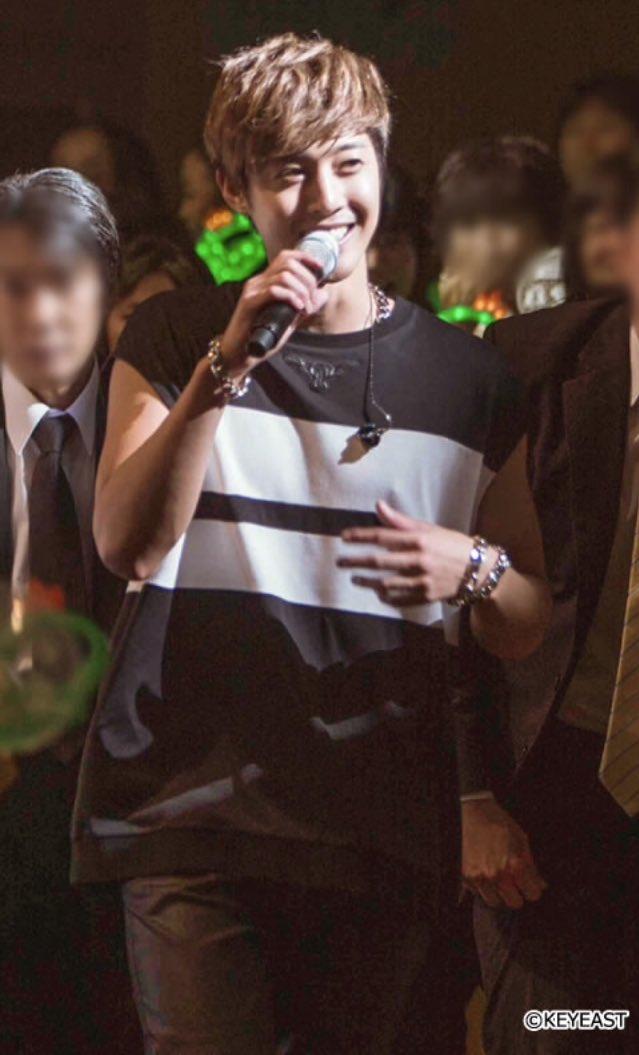 [Photo] Kim Hyun Joong Japan Mobile Site Update [2016.07.22]