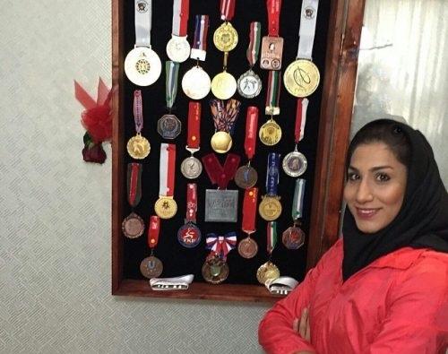 مدال ها و افتخارات ورزشی حمیده عباسعلی