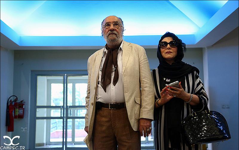 داریوش ارجمند و همسرش