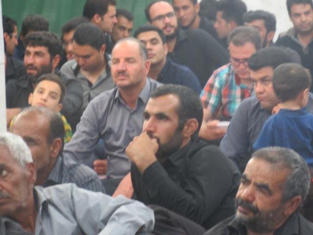 مراسم عزاداری  شب شهادت امام  صادق(علیه السلام) در محله صادقیون