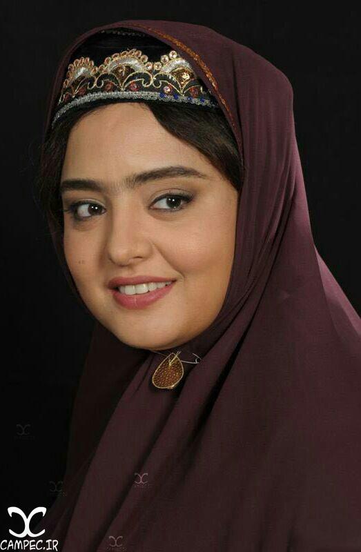 تست گریم نرگس محمدی در فیلم نیمکت