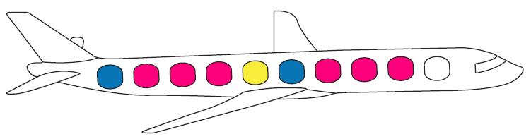 الگوهای رنگی مثال 2
