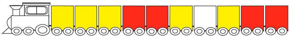 الگوهای رنگی مثال 3