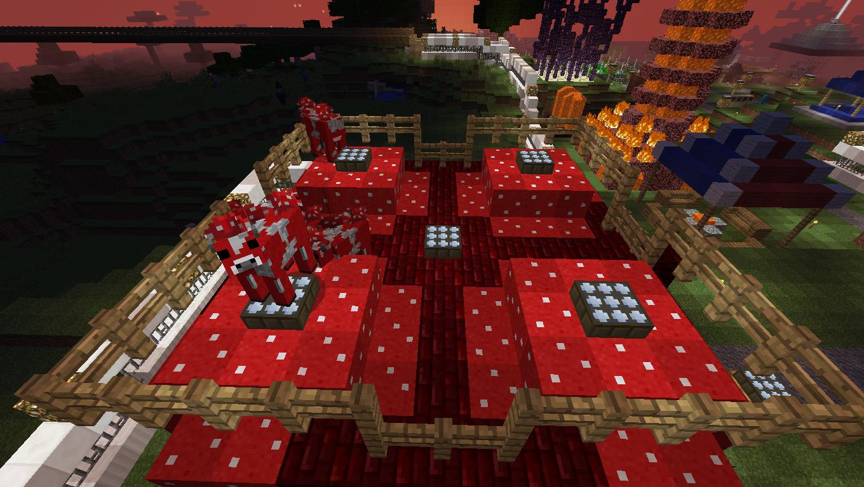 محل پرورش گاو قارچی