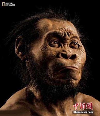 کشف یک انسان عجیب در افریقا (عکس)