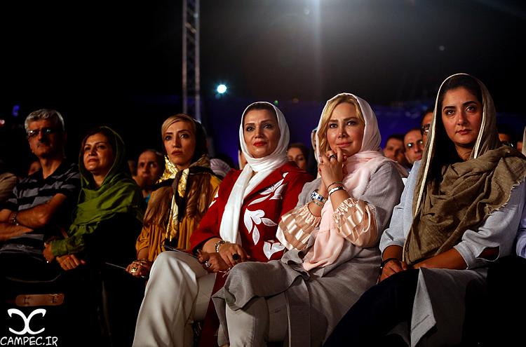 آنا نعمتی و الهام پاوه نژاد در کنسرت شهرام و حافظ ناظری